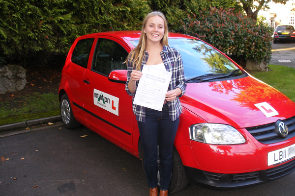 Emma Intuition driving lessons Cobham