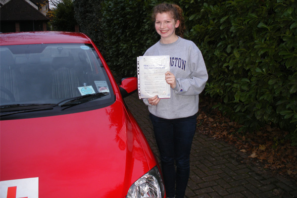 Hannah Intuition driving lessons Claygate