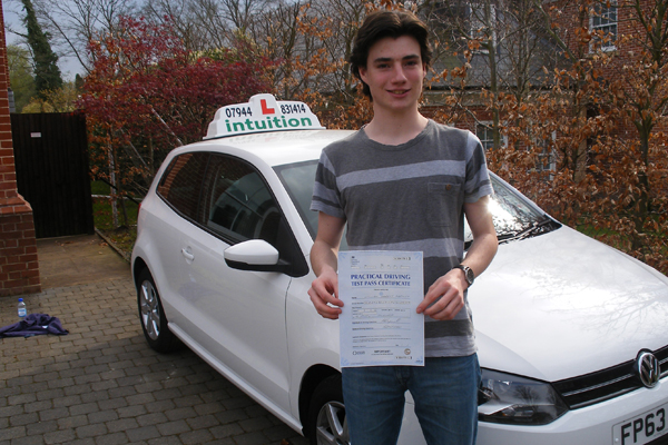 Will Intuition driving lessons Oxshott
