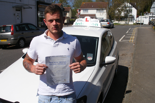 Lee Intuition driving lessons Cobham