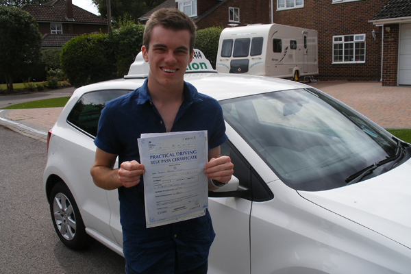 Andrew Intuition driving lessons East Horsley