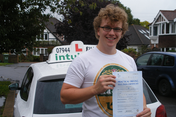 Charlie Intuition driving lessons East Molesey