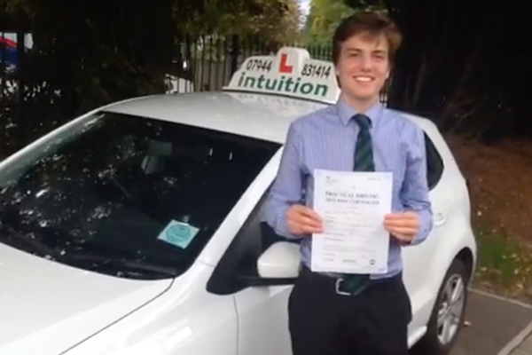 Alex Intuition driving lessons Esher