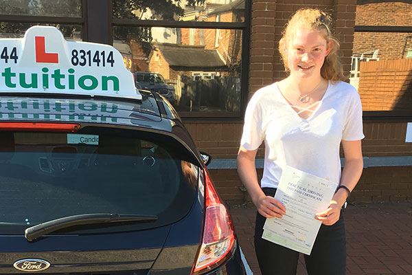 Alex driving lessons in Claygate