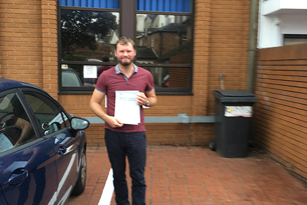 Carl Intuition driving lessons Hersham