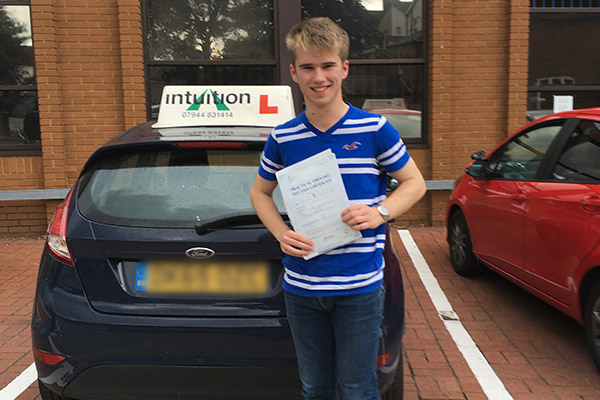 Charles Intuition driving lessons Hersham