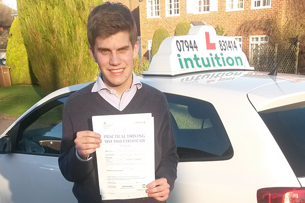 Dave Intuition driving lessons East Horsley