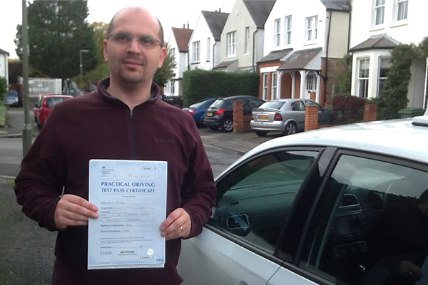 Miklos Intuition driving lessons East Molesey