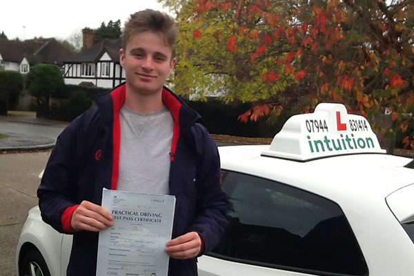Charlie Intuition driving lessons Hinchley Wood