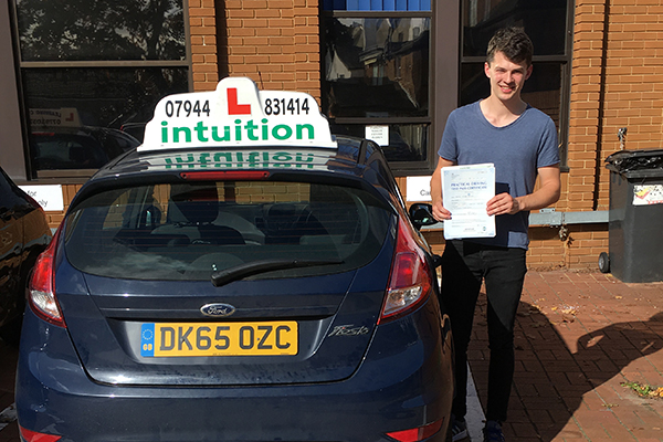 James driving lessons in Hampton Court