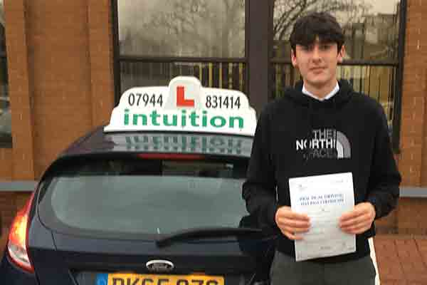 Jamie driving lessons in East Molesey