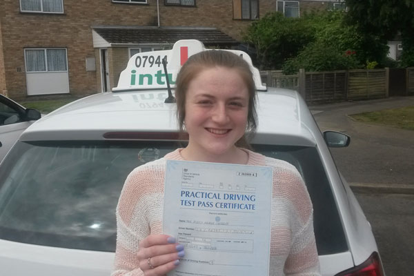 Jessica Intuition driving lessons Hersham