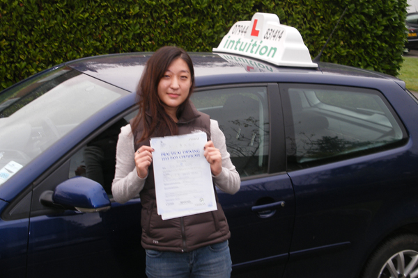 Julianna Intuition driving lessons Cobham