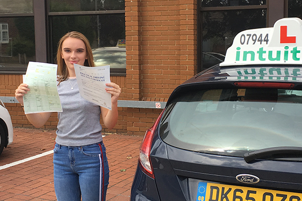 Katie driving lessons in Walton