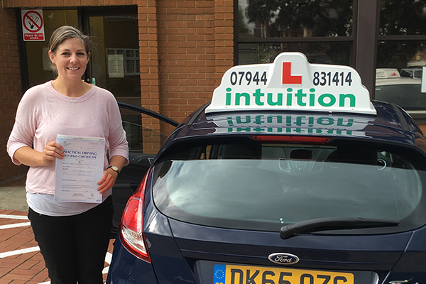 Margo driving lessons in East Molesey