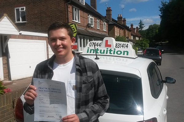 Max Intuition driving lessons Claygate
