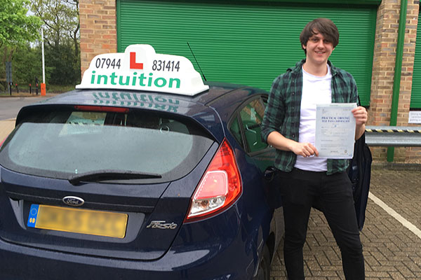 Michael driving lessons in Walton