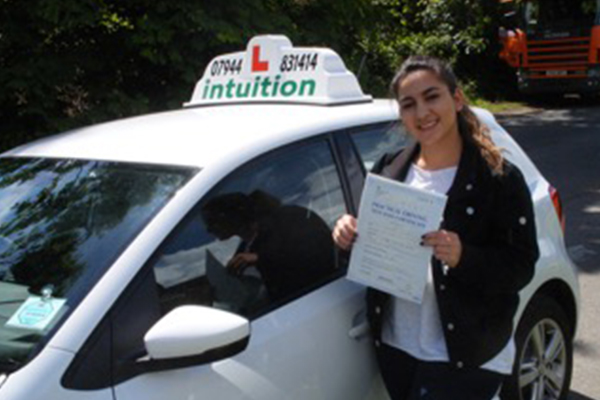 Samarie Intuition driving lessons Esher