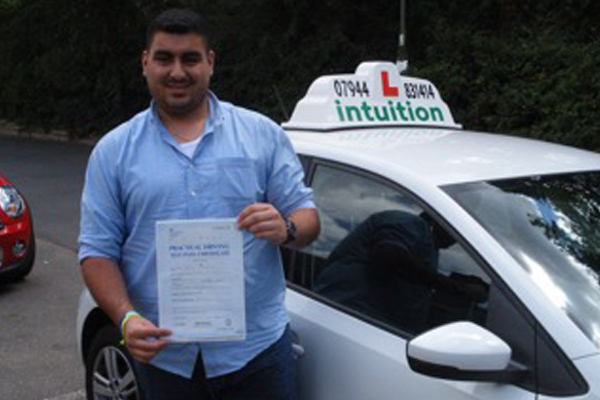 Sami Intuition driving lessons Esher