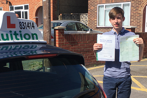 Scott driving lessons in Esher