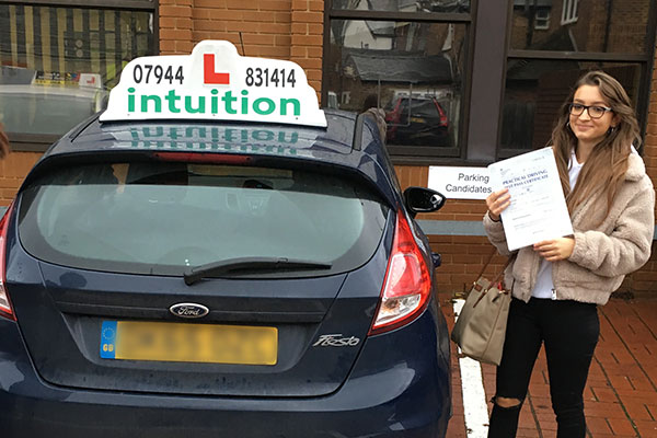 Sheila driving lessons in Hampton Court