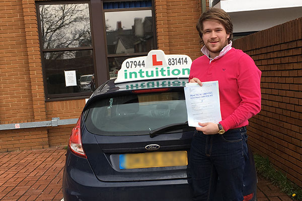 Simon driving lessons in Oxshott