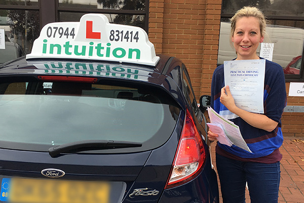 Vicky driving lessons in Cobham
