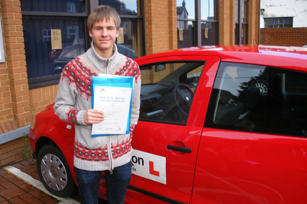 Viktor Intuition driving lessons Cobham