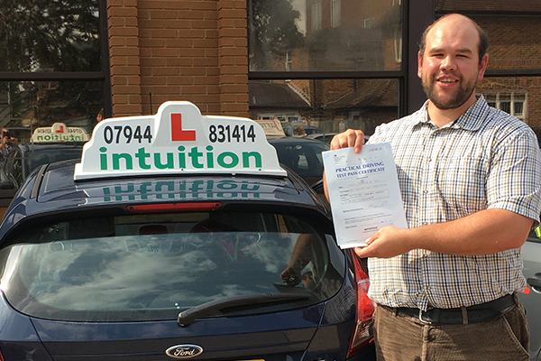 Yves driving lessons in Devizes